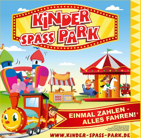 Kinderspasspark - Der mobile Tobewelt und Freizeitpark